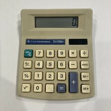 Vintage Texas Instruments TI-1795 Plus Arithmetic Pocket Calculator Solar Power