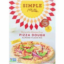 Naturellement sans gluten, Amande farine Mix, pâte à pizza-simple Mills