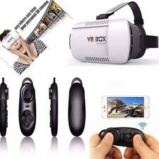 VR BOX Virtual Reality 3D Glasses for 4.7-6.0 Android ios Bluetooth Gaming Movie