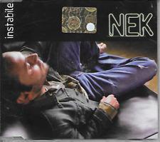 NEK - Instabile CD SINGLE 3TR Pop Rock 2006 (SIAE) Italy