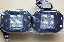 Rigid Industries 21211 Dually Flush Mount LED Flood Lights- Set of 2