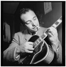 Django Reinhardt Aquarium New York 1946 Romany Guitar 6x5 Inch Reprint Photo