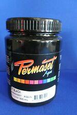 PERMASET SCREEN PRINTING FABRIC INK STANDARD JET BLACK 300ML
