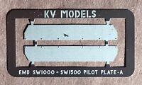 SW1000 AND SW1500 PILOT PLATES HO SCALE KV MODELS KV-130H
