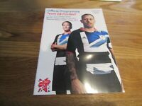 Official Programme - Team GB Football at London 2012 Olympic Games 31/01 July