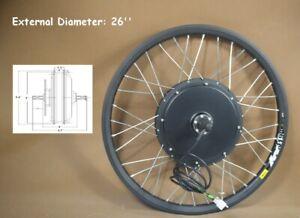 26 inch Mountain Bike Modified 48V-60V 500W E-bike Conversion Kit