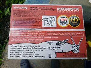 Magnavox TB110MW9 DTV Digital To Analog DTV Converter Box & Remote New In Box