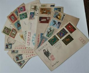 LOT OF OLD CHINA TAIWAN COVERS