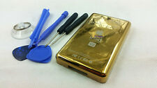 new U2 gold metal back housing case cover special editon for ipod 6th Gen 160gb