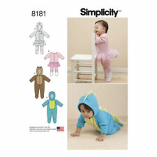 Simplicity Infant Mixed Lot Sewing Patterns