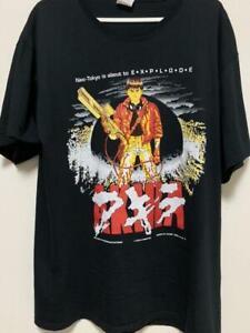 akira 1988 Tshirt Vintage Unisex Black Size S-5XL