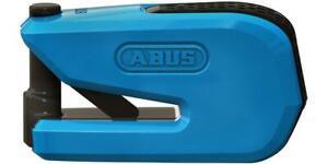Abus Smart X Detecto 8078 Motorcycle Motorbike Alarm Brake Disc Lock Blue