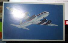 Deltaliner DC-6 1952 Postcard Nice Condition!