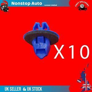 10X Porta Lato Modanatura Passaruota a Zampa Orlo Clip Per Toyota Land Cruiser