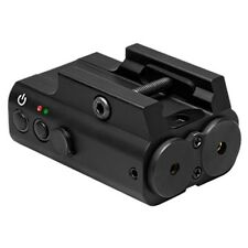 NcSTAR Red & Green Tactical Hunting Rifle Weaver Rail Mounted Laser APXLRGB