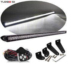 52 Inch 250W  Single Row Led Light Bar Spot Flood Combo Offroad Driving Lamp