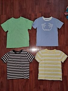 Janie and Jack GAP Boys Summer Striped SS Tops Shirts Tees 4 5 XS Lot