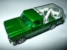 Matchbox Lesney Superfast #50 Ford Kennel Truck in metallic dark green MINT!