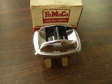 NOS OEM Ford 1952 1953 Mercury Seat Regulator Switch + Bezel