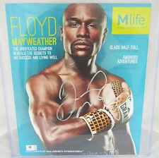 Floyd Mayweather Signed Mlife Magazine 10x12 - Global Authentics