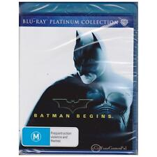 BLU-RAY BATMAN BEGINS Christian Bale BLURAY PLATINUM COLLECTION REGION B [BNS]