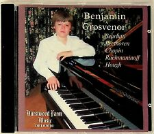 Benjamin Grosvenor- Scarlatti/Beethoven/Chopin RARE Piano Sonatas etc CD 2003/04