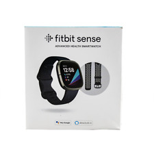 Fitbit Sense Advanced Health & Fitness Tracker Smartwatch Graphite FB512BKBK