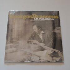 """GEORGES BRASSENS - A LA VILLA D'ESTE 1953 - 2001 LP 10"""" LTD. EDITION NEUF SCELLé"""