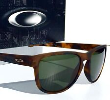 NEW* Oakley SLIVER R in Matte Tortoise frame w Grey Green Lens Sunglass 9342-04