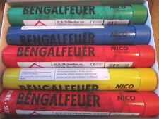 Bengalfeuer/Nicofeuérwerk/ Bengalos/5 verschiedene Farben/ Schnäppchen/5 Stück