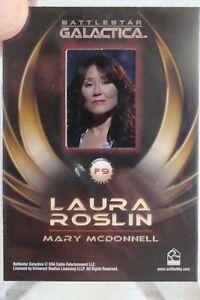 Battlestar Galactica Mary McConnell Roslin Card Rittenhouse Film Clip Gallery f9
