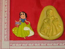 Silicone Mold Princess Snow White  A700 Fondant Chocolate Resin Candy Wax Soap