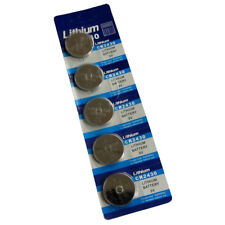 5 x CR2430 LITHIUM BATTERIES 3V 2430 DL2430 COIN CELL WATCH BATTERY UK SELLER