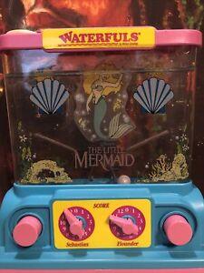 Milton Bradley Disney Waterfuls The Little Mermaid Water Game Ariel