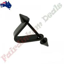 Black V Shape Helix/Cartilage Ear Cuff with Surgical Steel Spike End Barbell