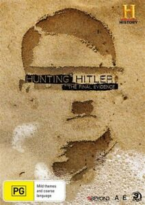 The Hunting Hitler - Final Evidence (DVD, 3-Disc) Brand New / Sealed - R4