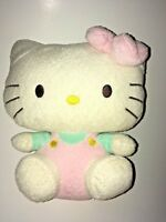 "Ty Sanrio White And Pink Hello Kitty   8"" Plush Stuffed Animal"
