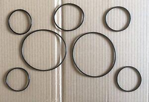 TRIUMPH STAG instrument to dash panel seals (7)