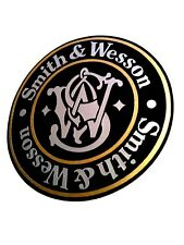 Smith & Wesson Vinyl Decal Sticker For Shotgun / Rifle / Case / Gun Safe / Car 1