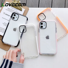 Clear Protective Case For iPhone 11,Pro Max XR XS Max 7 8 Plus XS MAX SE Cover