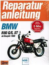 Libro Manual de reparaciones BMW R 80 G/S,ST de Bj. Banda 1980 5078 Bucheli