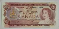 Bank Of Canada 1974 $2 Replacement Bank Note. BC-47aA Lawson-Bouey (*BA)