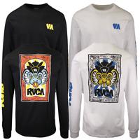 RVCA Men's VA Regular Fit L/S T-Shirt (S13)
