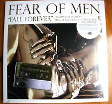 FEAR OF MEN - FALL FOREVER BLACK / GOLD VINYL LP WITH DEMO CASSETTE - RARE!!