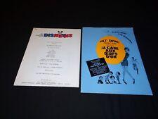 LA CANE AUX OEUFS D'OR scenario dossier presse cinema animation disney 1971