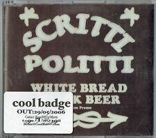 SCRITTI POLITTI - CD - White Bread Black Beer (14 Track Promo CD) Rough Trade