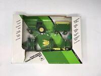 Vintage 1991 Ertl-John Deere # 5624 Die Cast Farm Implement Set. 1/64 Scale.