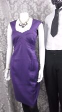 M&CO Size 12 Blackcurrant colored knee length dress NEW with tags RRP £50