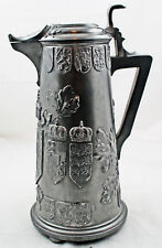 Pewter Flagon by Kayserzinn of Kaiser Wilhelm
