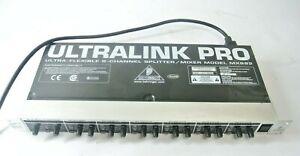 Behringer UltraLink Pro Ultra-Flexible 8-Channel Splitter Mixer MX882